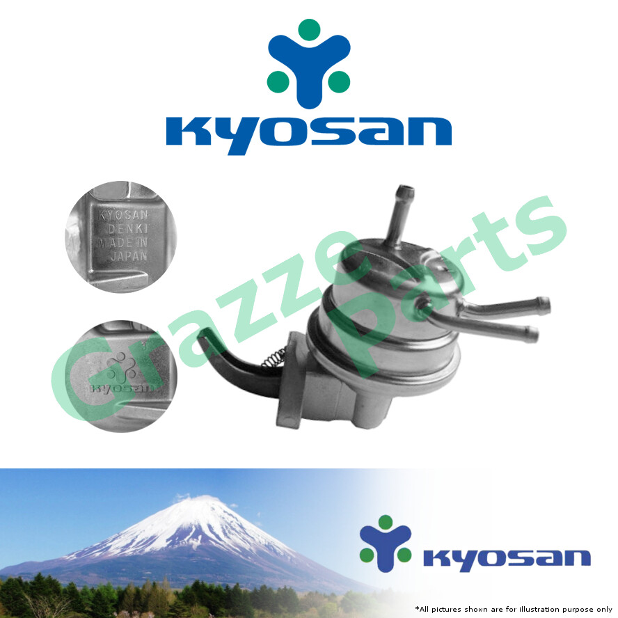 ? Kyosan ? Made In Japan Mechanical Fuel Pump TP608 for Toyota Corolla KE70 (Import) 3-Pipe