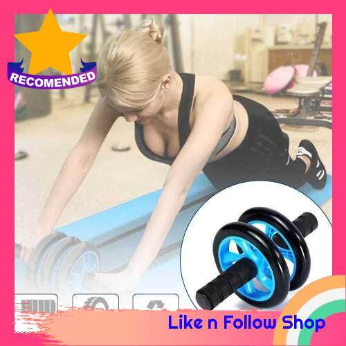 Fitness Abdomina Roller Wheel for Abdominas Workout Abdomina Roller Exercise Equipment Accessories (Blue)