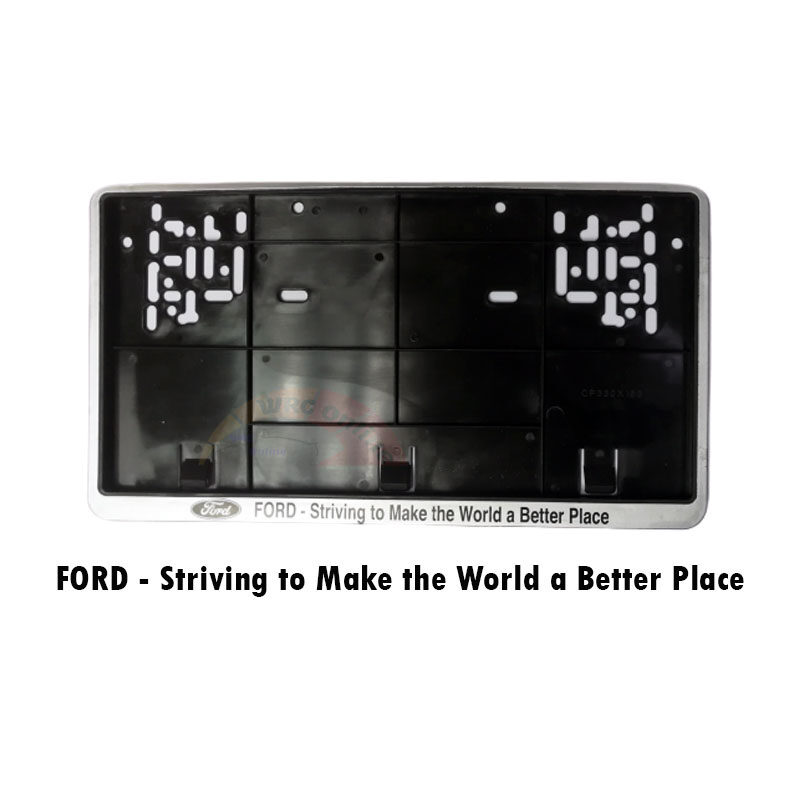 """BMW / Ford / Mitsubishi / Mercedes / Nissan Number Plate Holder (7"""" x 13"""") (1pc)"""