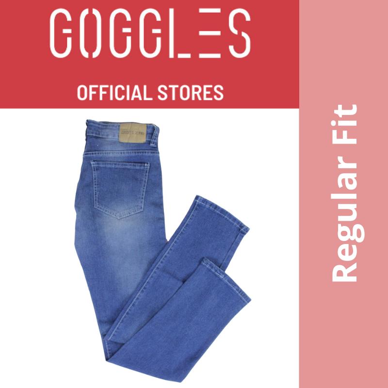 GOGGLES Ladies Denim Women Jeans Regular Fit Medium Blue 100339