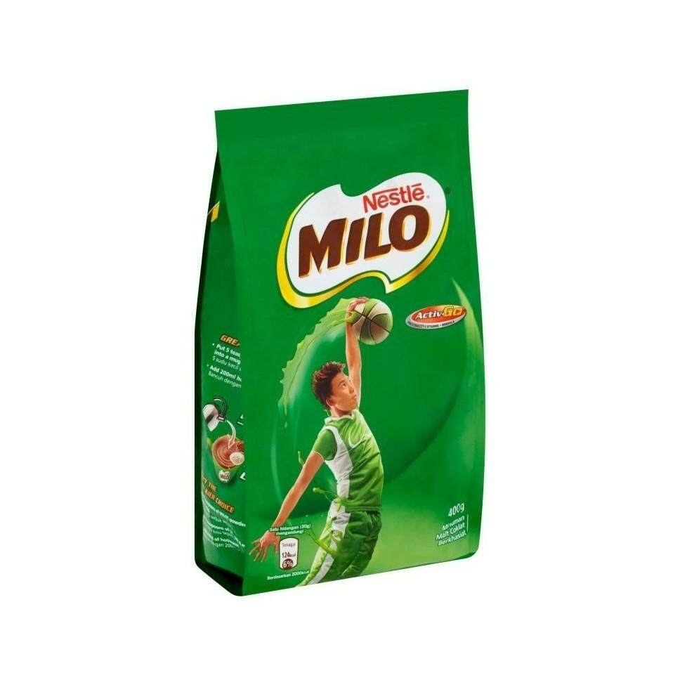 Milo Active Chocolate Malt Drink 400G  READY STOCK