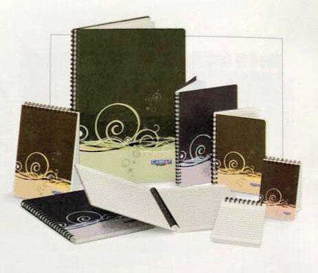 CAMPAP CA3239 A7 70gms 60's SPIRAL NOTE BOOK (PP COVER) x 10pcs