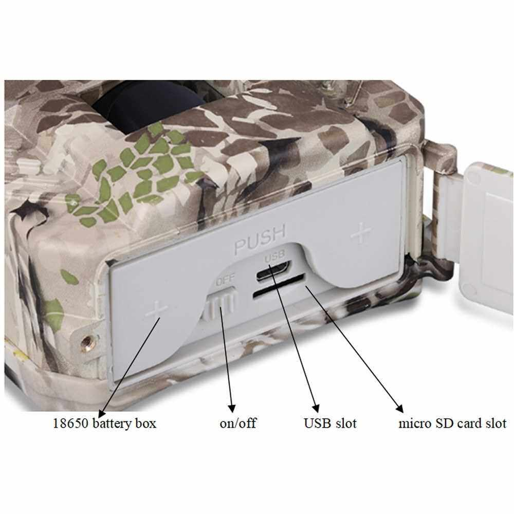 Best Selling PR-200 12MP Hunting-Trail Camera Infrared Night-Vision Outdoor Cam Wildlife Hunting-Monitoring and Farm Safety Protections Camera (Camouflage)