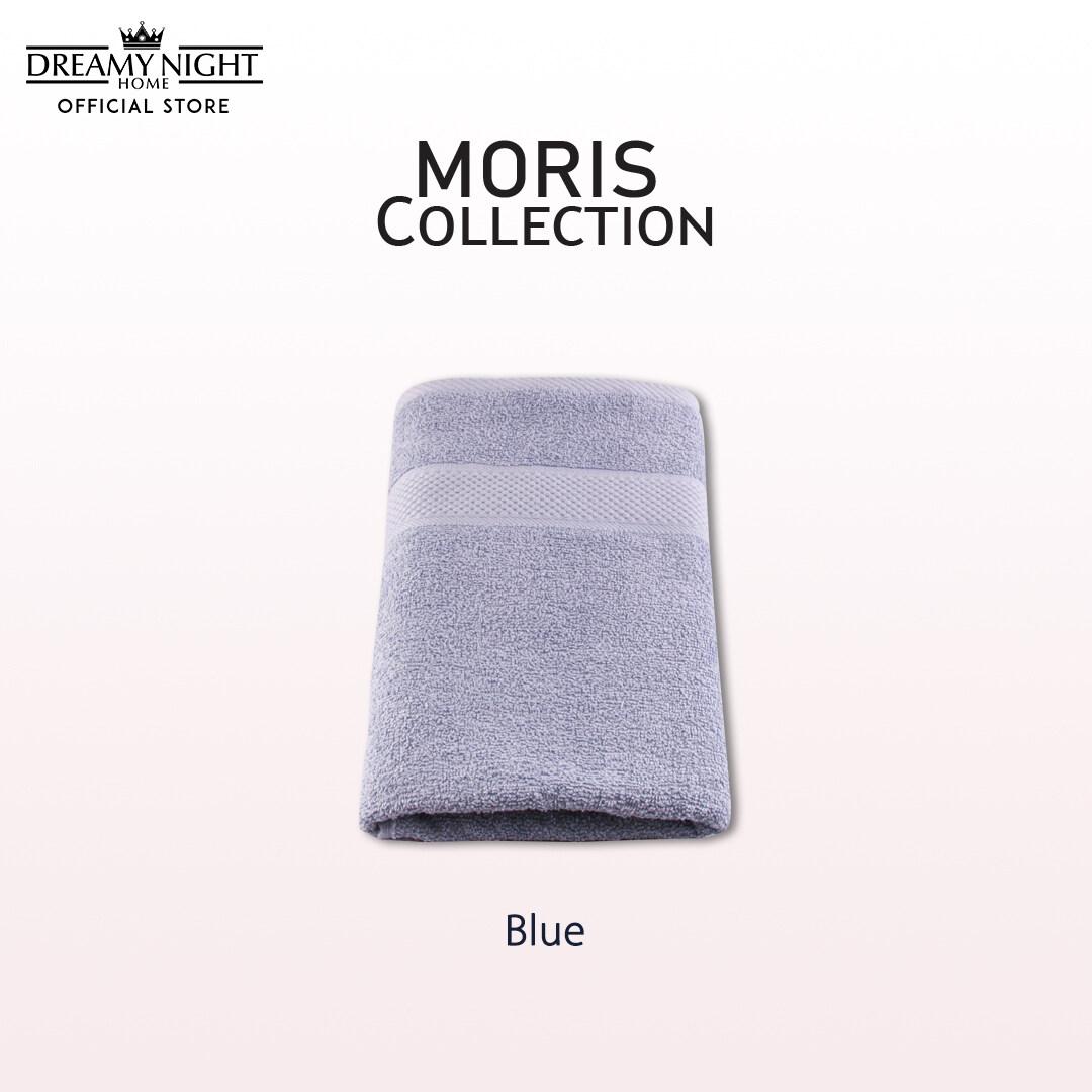 [35cm x 75cm/ 135g] Dreamynight Home Moris Collection 100% Cotton High Quality Soft & Comfortable Face Towel/ Tuala Muka Super Absorbent Hotel Towel(35cm X 75cm)