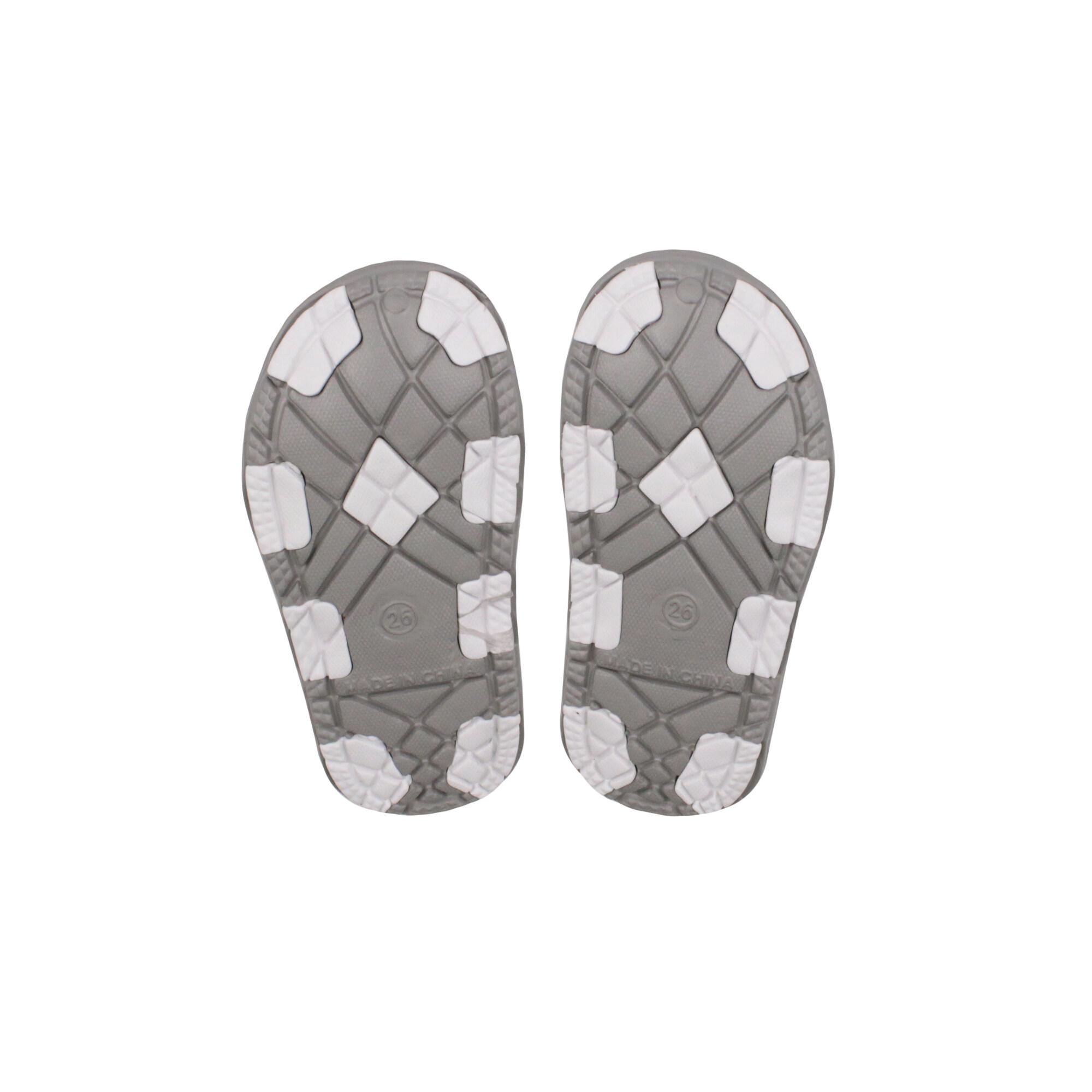 We Bare Bears Kids Unisex Sandals- Grey & White Colour