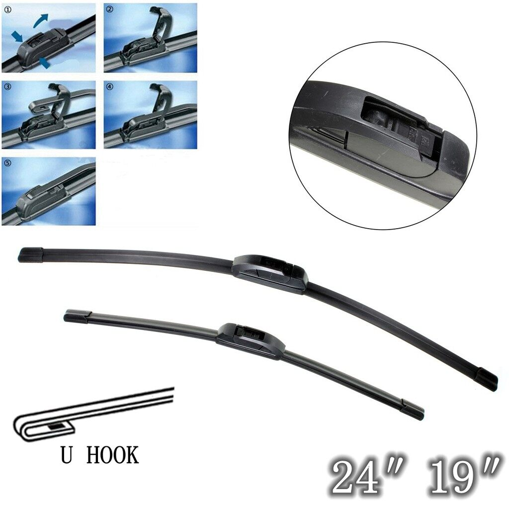 Windscreen Wipers & Windows - A Pair Car Windshield Wiper Blades For VAUXHALL - Car Replacement Parts