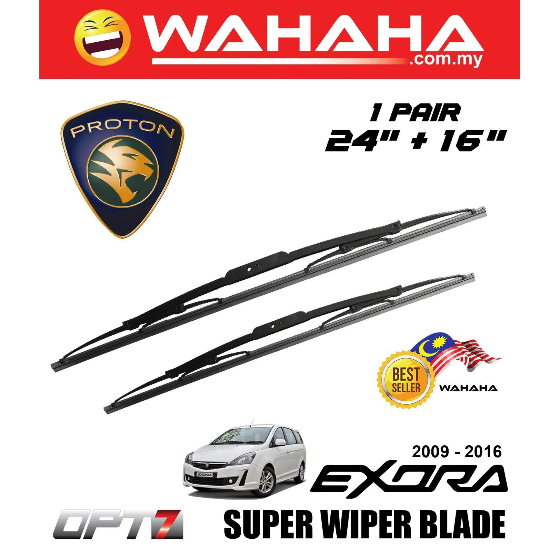 PROTON EXORA OPT7 Car Window Windshield Super Wiper Blade 24 +16