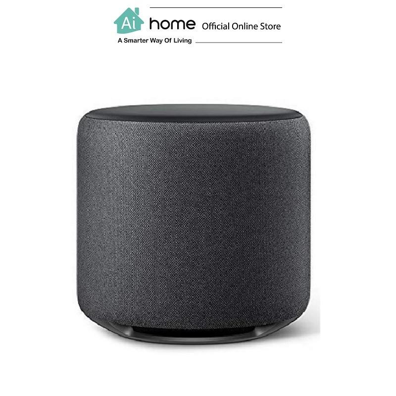AMAZON Echo Sub Speaker (Gray) Pair with Echo Plus with 1 Year Malaysia Warranty [ Ai Home ] AMAZON Echo Sub Speaker