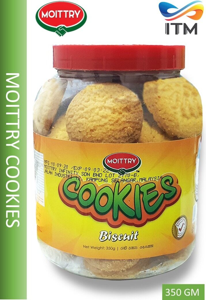 MOITTRY CRUNCHY COOKIES 350 GM