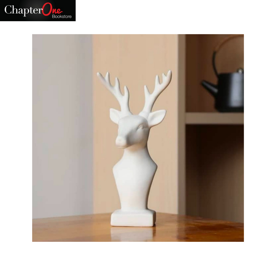 White Reindeer (Home and Office Decor)
