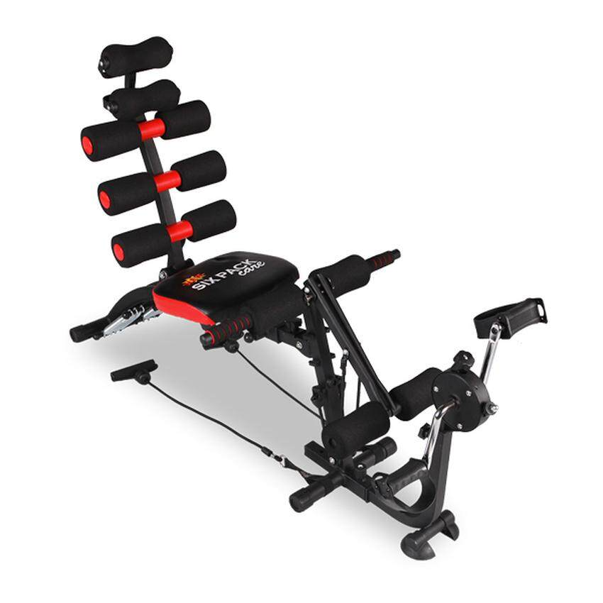 6 PACK CARE Exercise Bench Sit Up Gym Fitness Machine With Exercise Bike