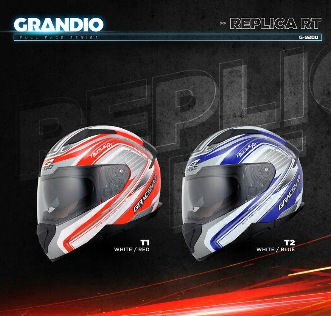 Gracshaw Grandio G9200 Full Face Double Visor Helmet