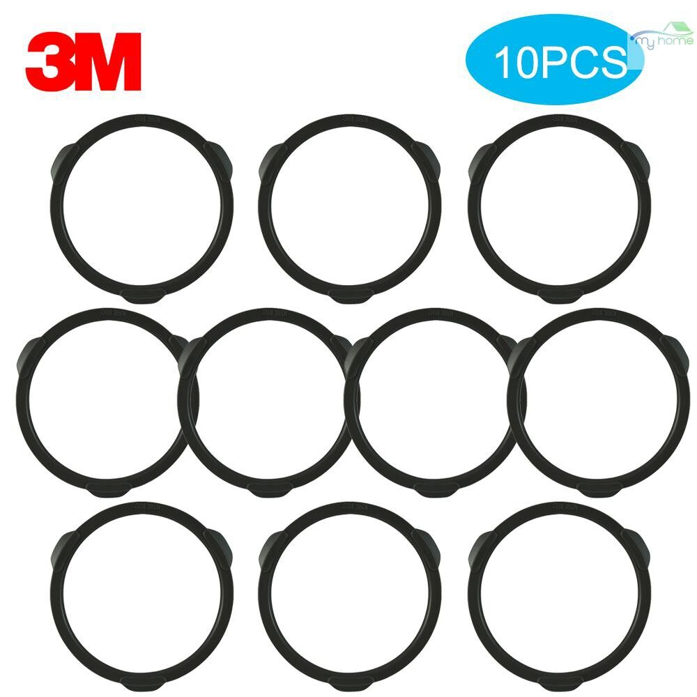 Protective Clothing & Equipment - 3M 385 Filter Cotton Protection Cover Cap Used with 3N11 Filter Cotton Gas Mask Accessories for Gas - BLACK-3 / BLACK-2 / BLACK