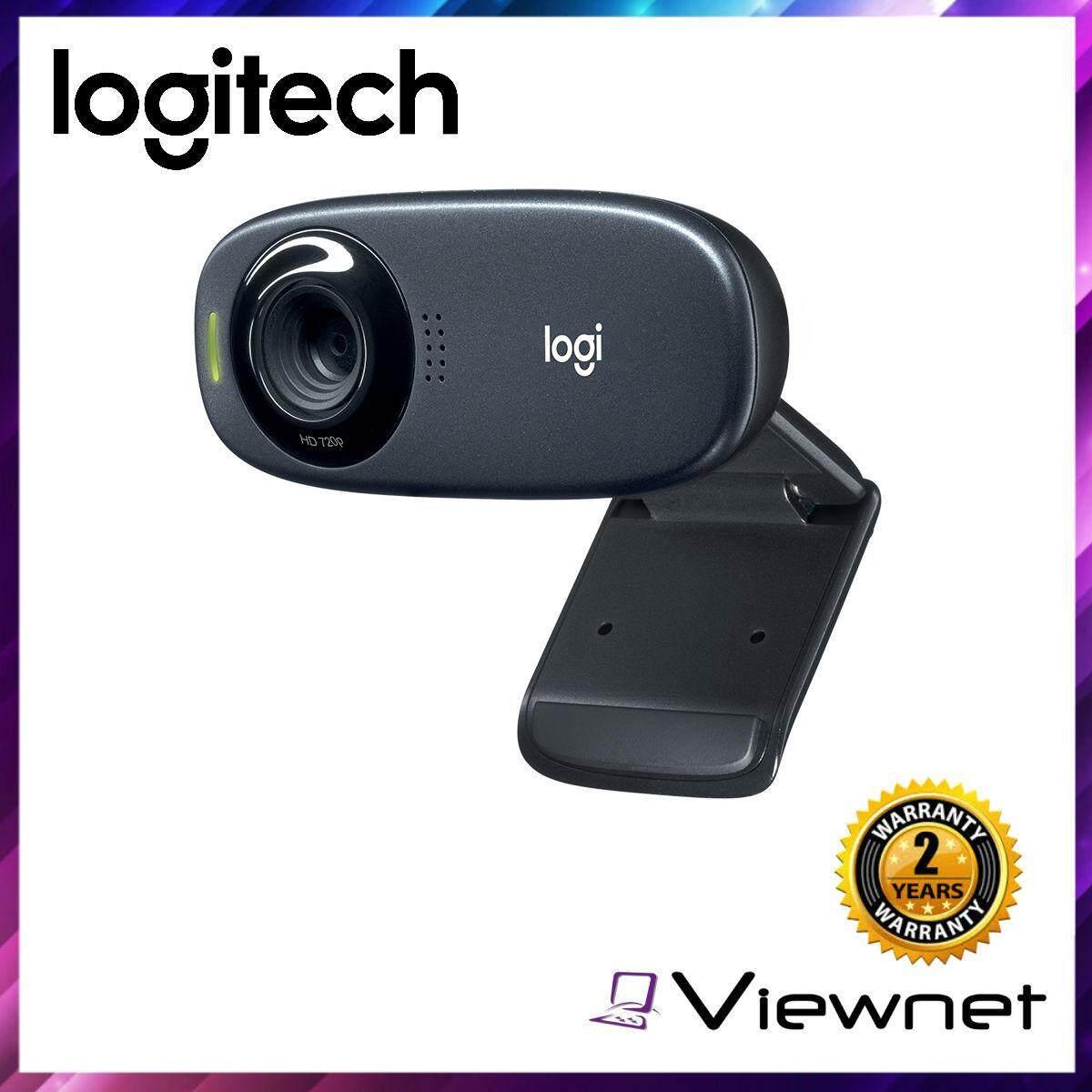 Logitech C310 5MP HD 720P Webcam (960-000588)