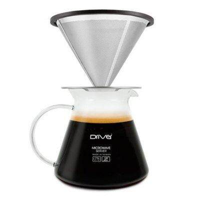 Hand Brew Set/ Permanent Coffee Filter with Coffee Server (Driver)