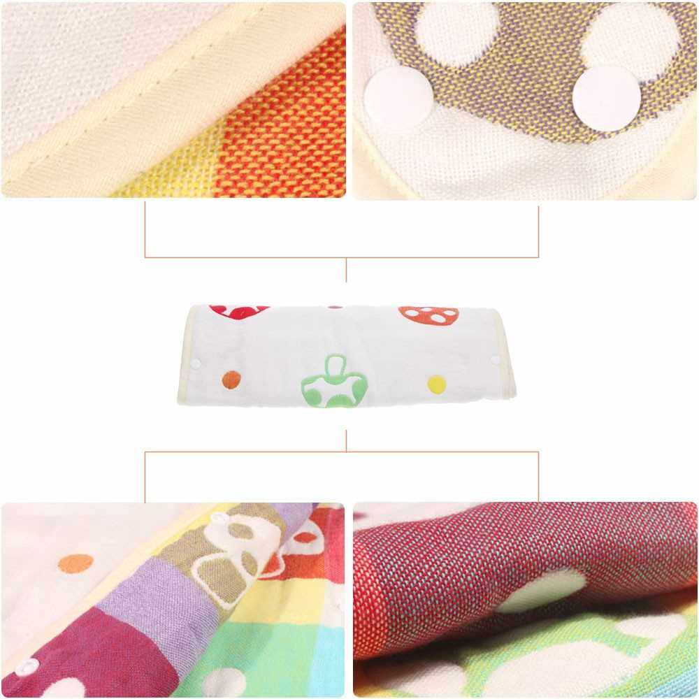 People's Choice 58*35cm Soft Thick Mushroom Pattern Baby Infant Sleeping Bag Swaddle Snap Fasteners (Multi)