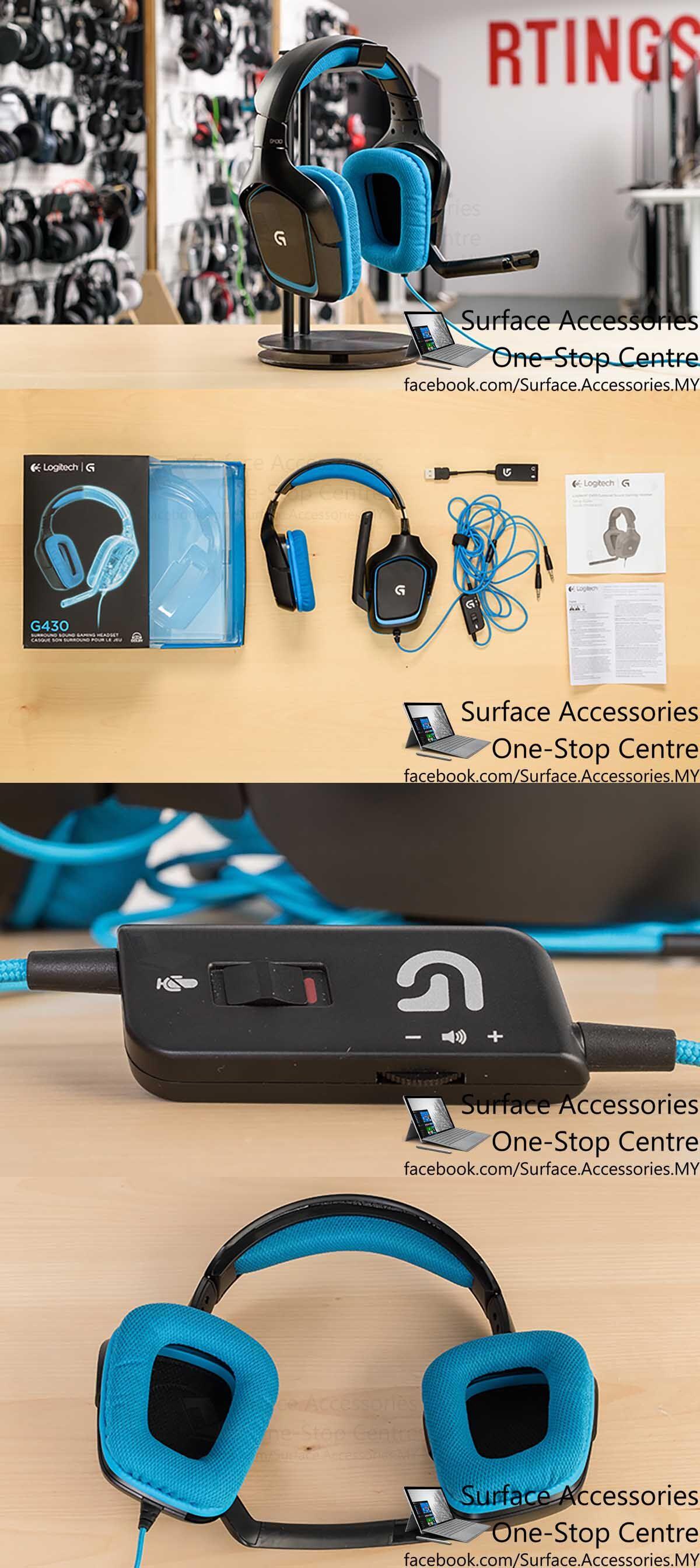 [MALAYSIA]Logitech G430 7.1 Surround Gaming Headset