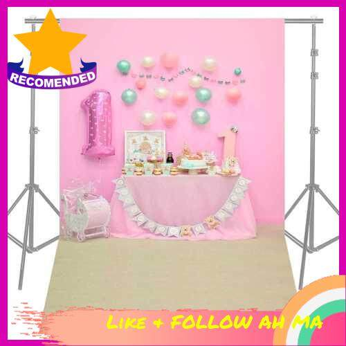 Best Selling Andoer 1.5 * 2.1m/5 * 7ft First Birthday Party Photography Background Pink Balloon Cake Table Backdrop Baby Newborn Photo Studio Pros (7)