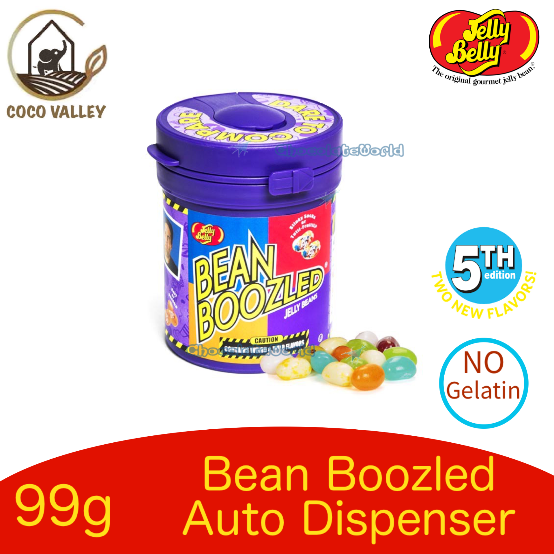 Jelly Belly Bean Boozled Dispenser Series 99g