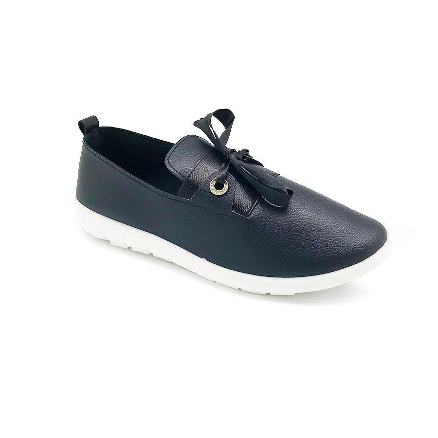 XES Ladies BSLCEV32 Comfort Sneakers (Pink Black)