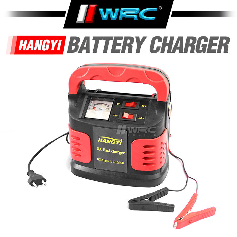 Hangyi Car Battery Charger 8A Fast Charger