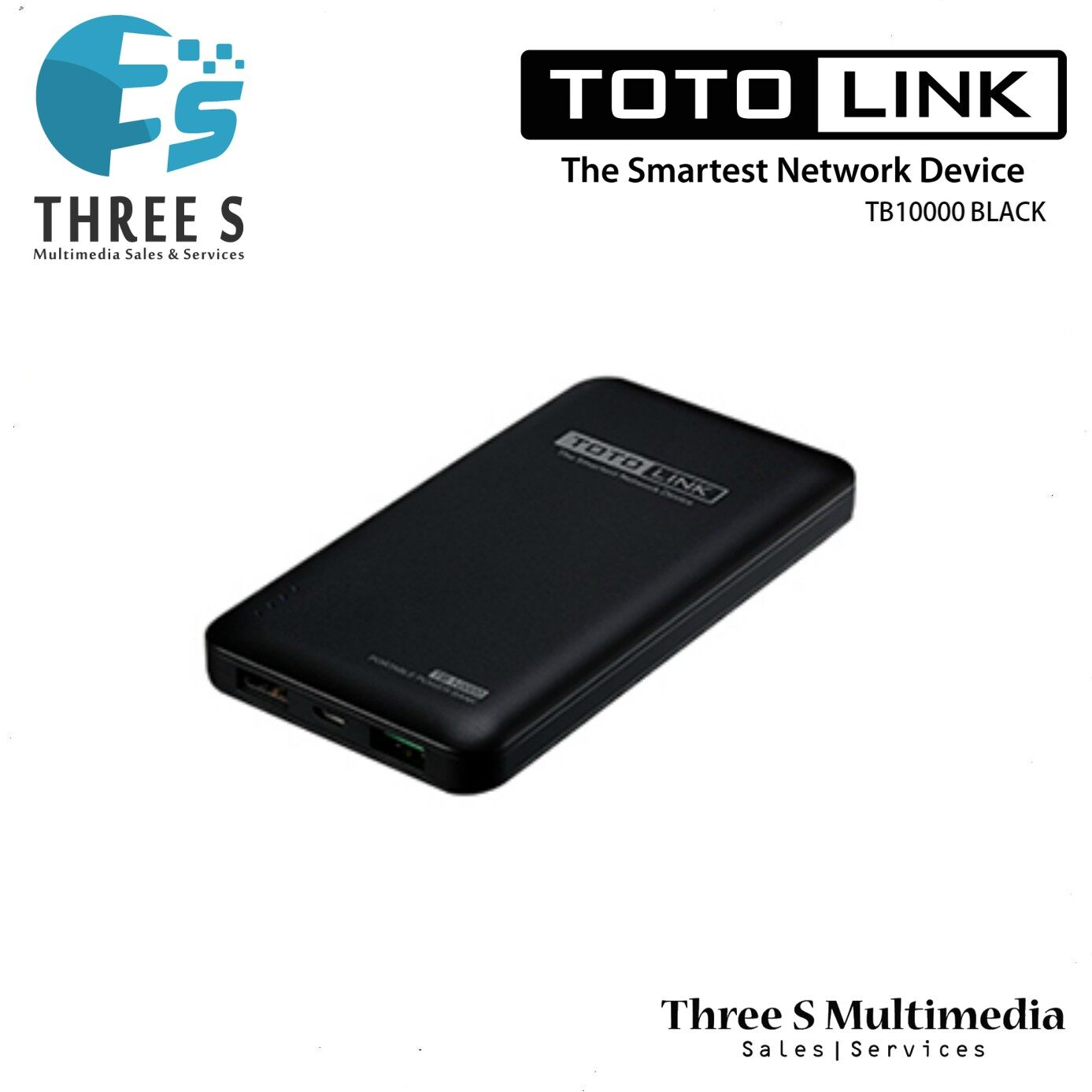 TOTO LINK 10000mAh Power Bank TB10000