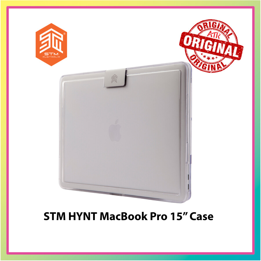 """STM HYNT MacBook Pro 15"""" Case  - Clear * Protection case * Military Standard * Defense"""