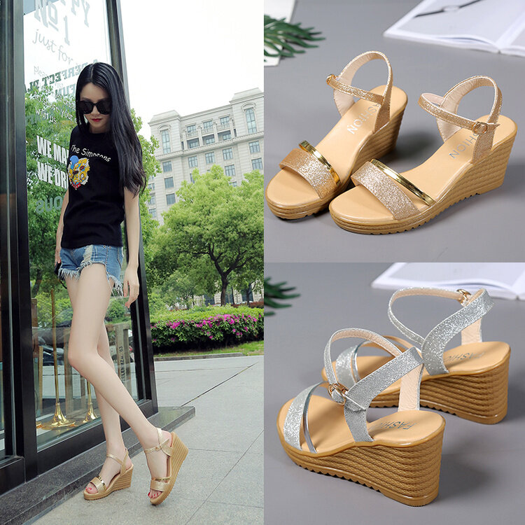 (PreOrder14Days )JYSFashionKoreanStyleWomen Sandal Collection 541 -4008 - EU:38