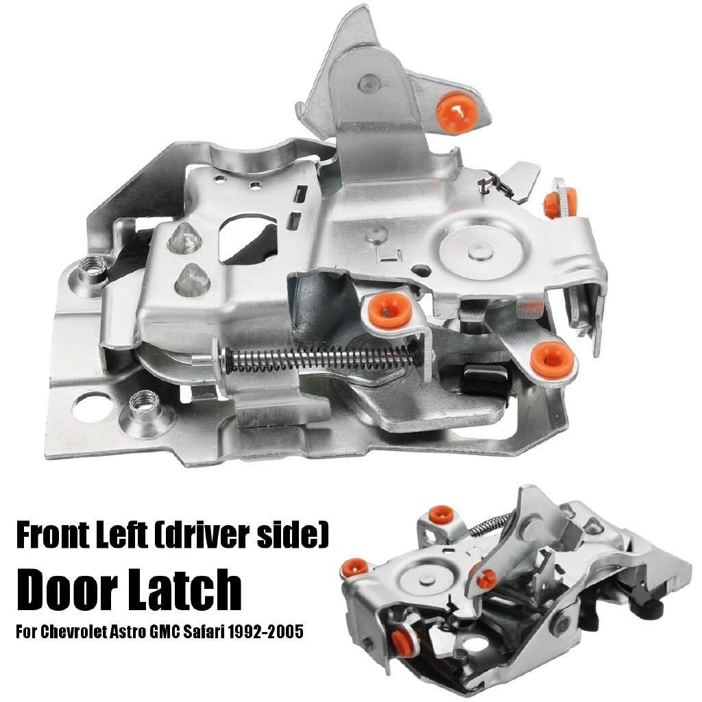 Car Accessories - Front Left Driver Side Door Latch For Chevrolet Astro GMC Safari 92-05 940-100 - Automotive