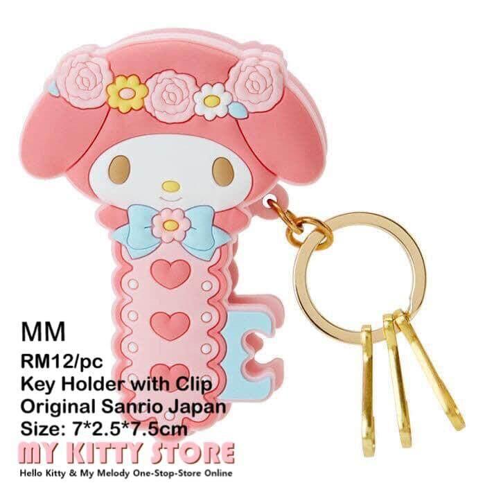 Sanrio Hello Kitty My Melody Keys Holder with Clip