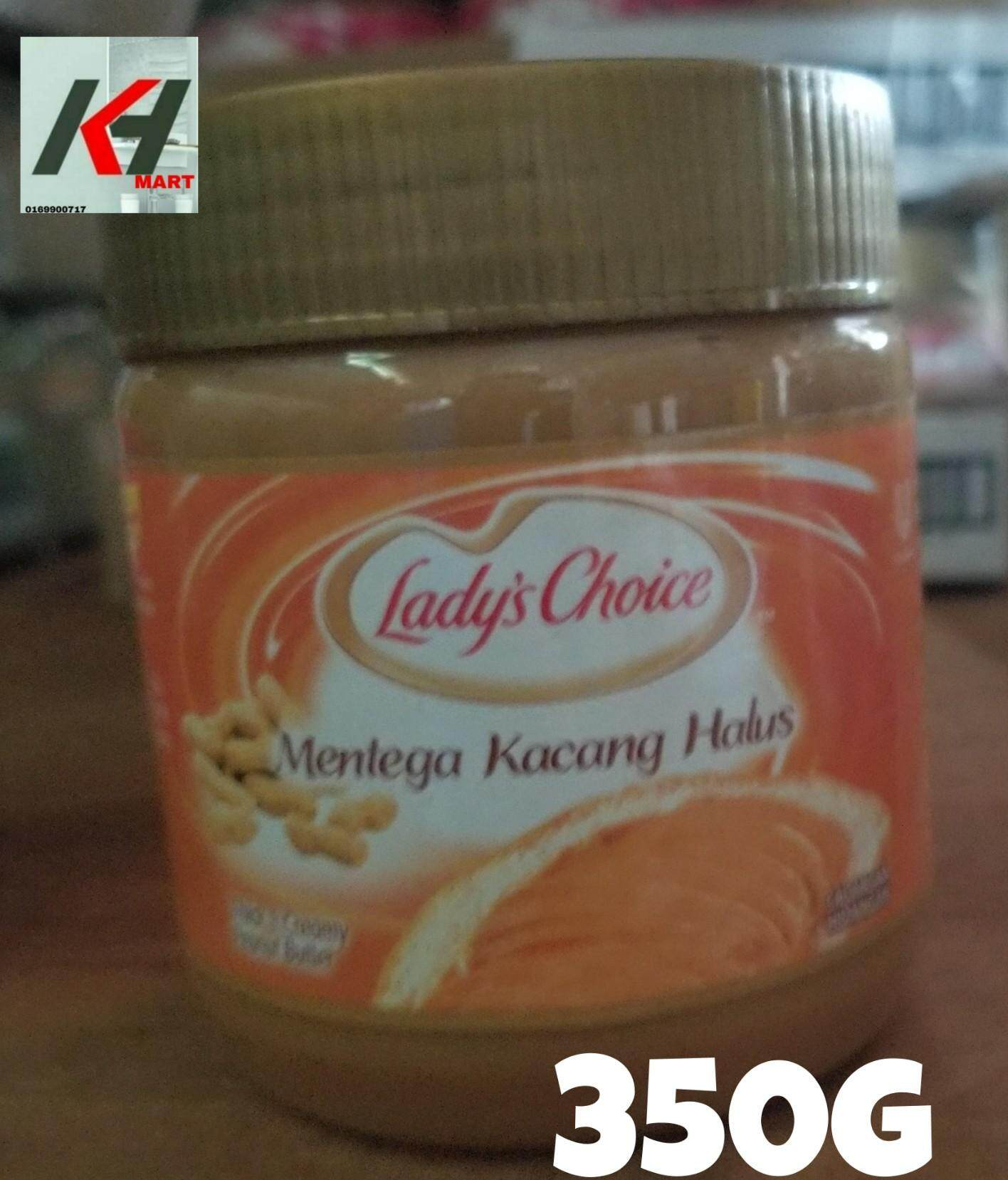 LADY'S CHOICE PEANUT BUTTER (KACANG HALUS) - 340G READY STOCK