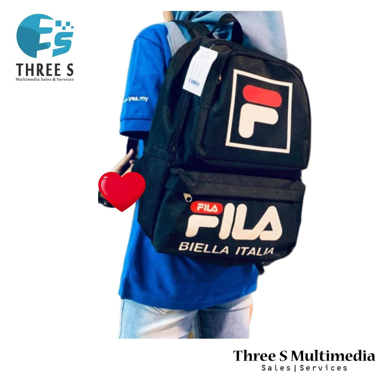 Ready Stock FILA Bagpack Shoulder Bag FILA