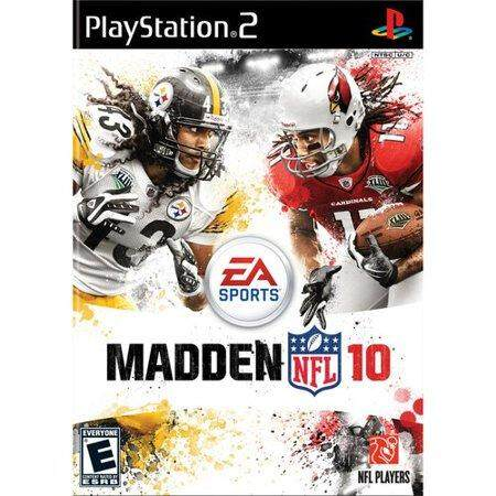 PS2 Madden NFL 10