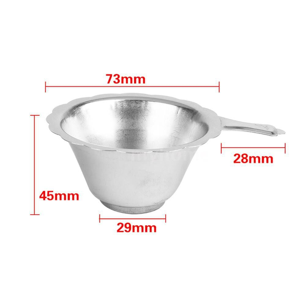 Printers & Projectors - Stainless Steel Resin Filter Cup Metal Funnels for SLA/DLP Printer Accessories - SILVER