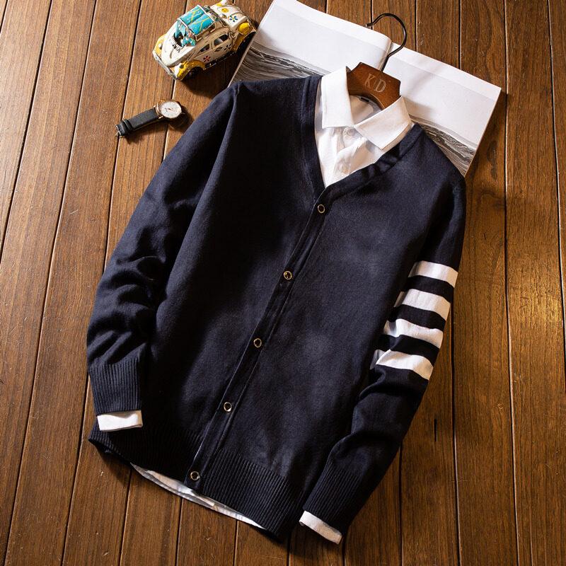 (Pre Order) JYS Fashion Korean Style Men Knit Cardigan Collection 546 - 1250