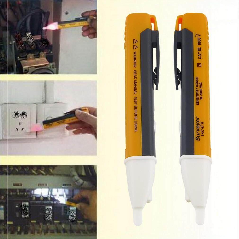 DIY Tools - Elc LED Light Electric Voltage Tester Test Pen Detector Sensor - Home Improvement