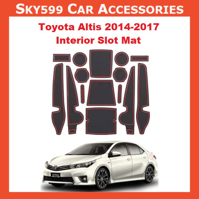 Toyota Altis 2014-2017 Interior Slot Mat
