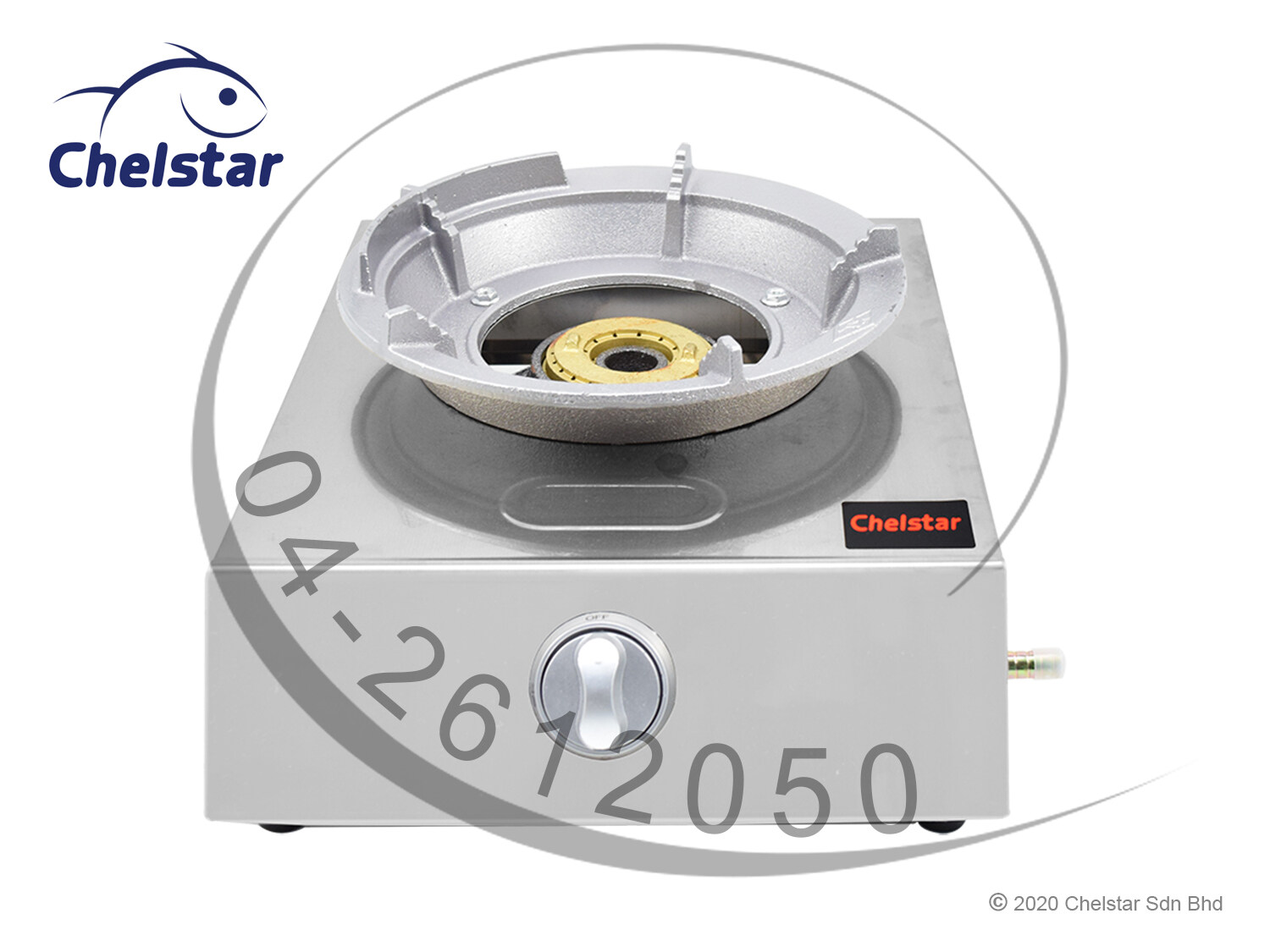 Chelstar High Pressure Single Burner Table Top Stove / Gas (MS-1A)