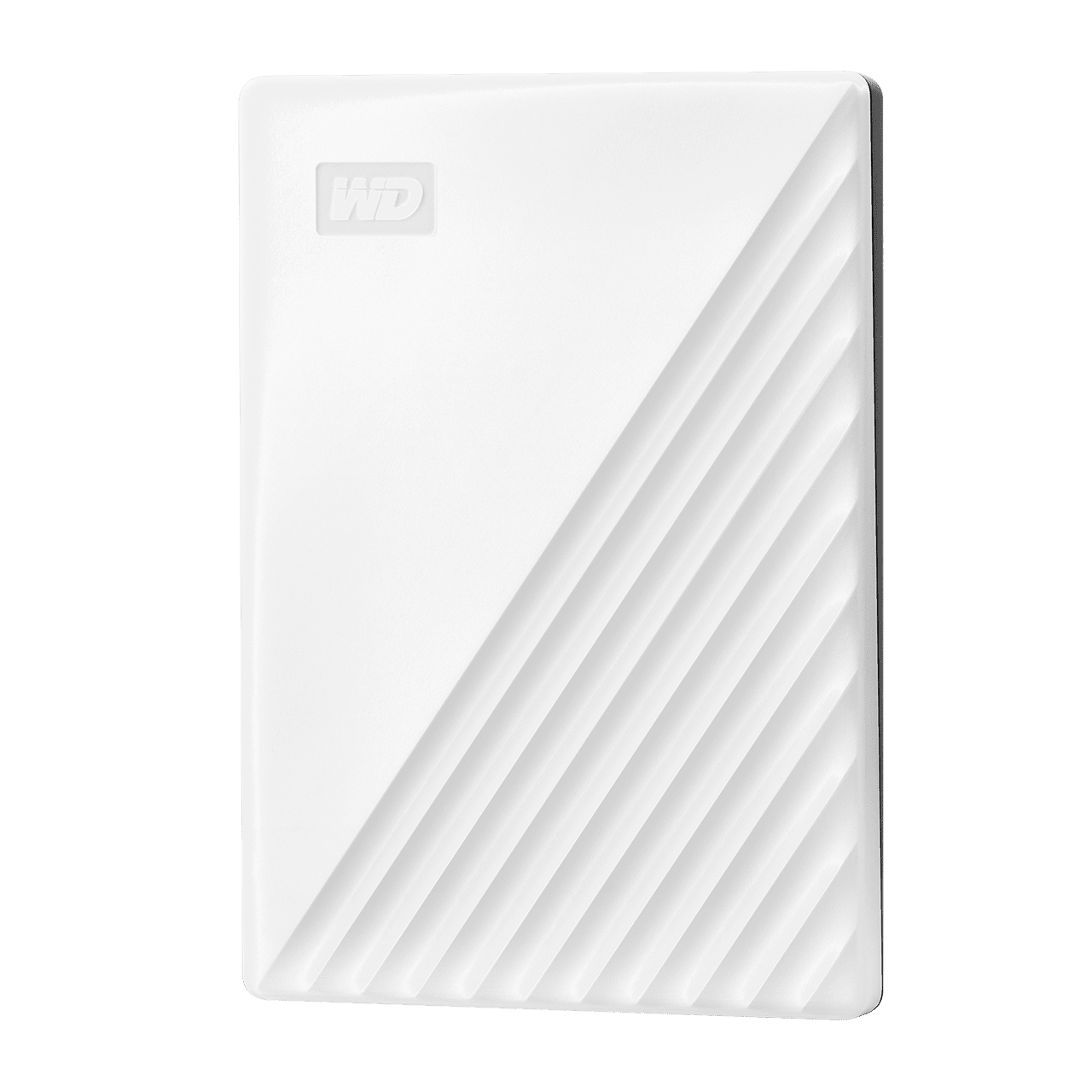 WD Western Digital My Passport 4TB Slim Portable External Hard Disk USB 3.0 With WD Backup Software & Password Protection - White
