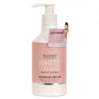 Beauty Buffet Scentio White Collagen Shower Cream 250ml (Product of Thailand)