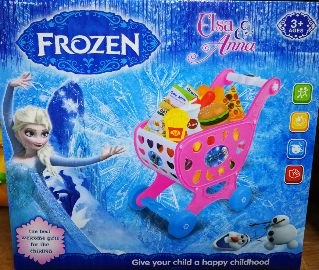 Kids Toy - Frozen Anna & Elsa Groceries Toys Set For Kids
