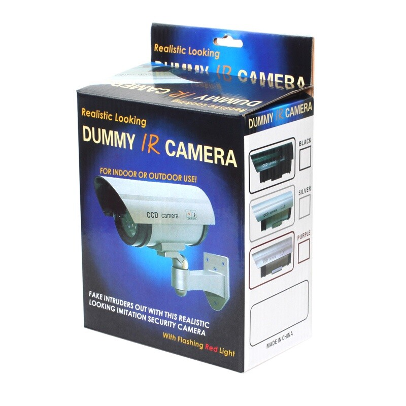 CCTV Security Cameras - CA-11-05 2-in-1 Power Supply 30 PIECE(s) IR LED Light Outdoor Fake CCTV Dummy Simulational Camera - Systems