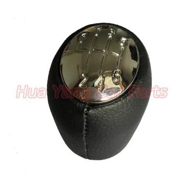 Steering, Seats & Gear Knobs - Car Gear Shift Knob Gear Handball Head Knob Chrome Caps For Renault Laguna - Car Replacement Parts