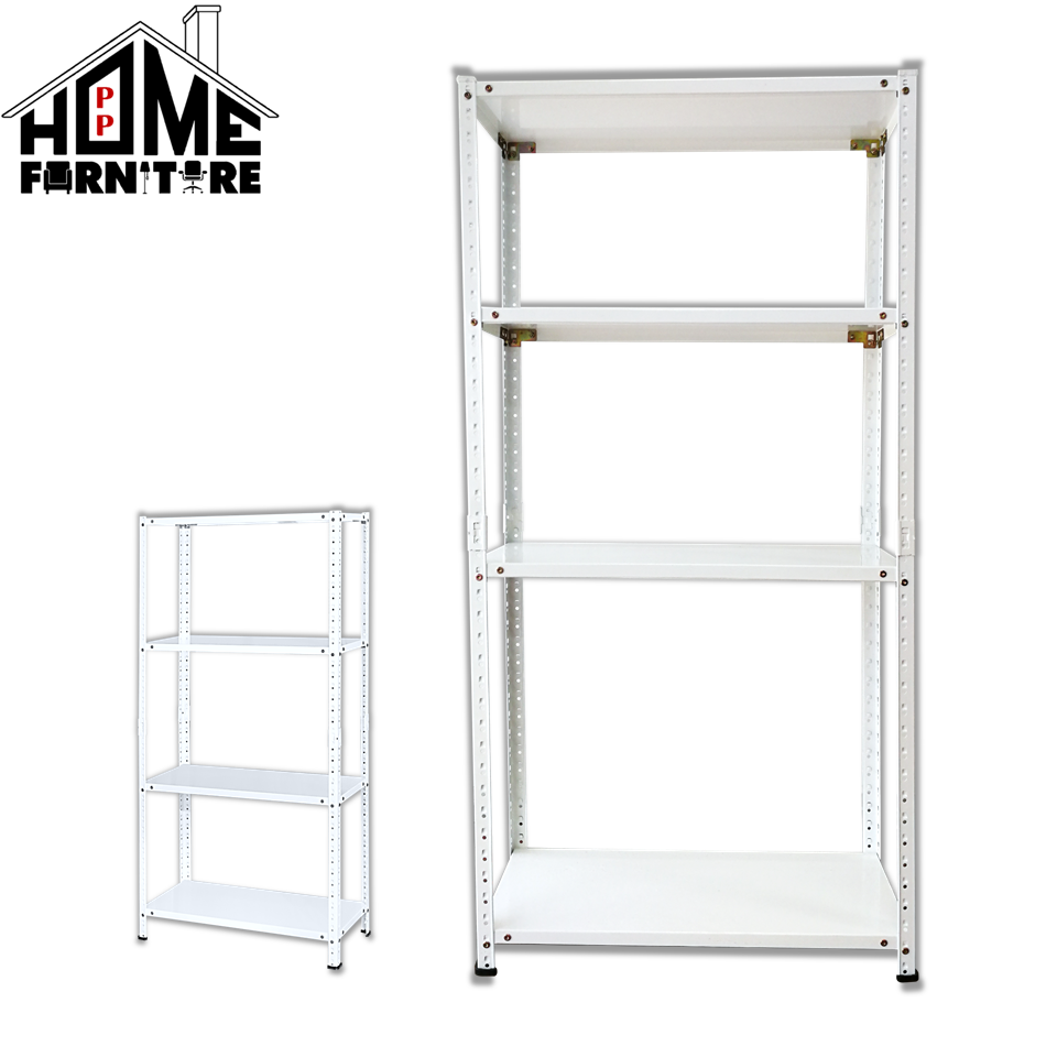 PP HOME Multipurpose Metal rack/4-Tier Storage Organizer Steel Rack/ Heavy Duty Metal Rack Shelf/Kitchen rack/ Rak besi/ 铁架/ 铁橱/多功能橱CONVY RACK