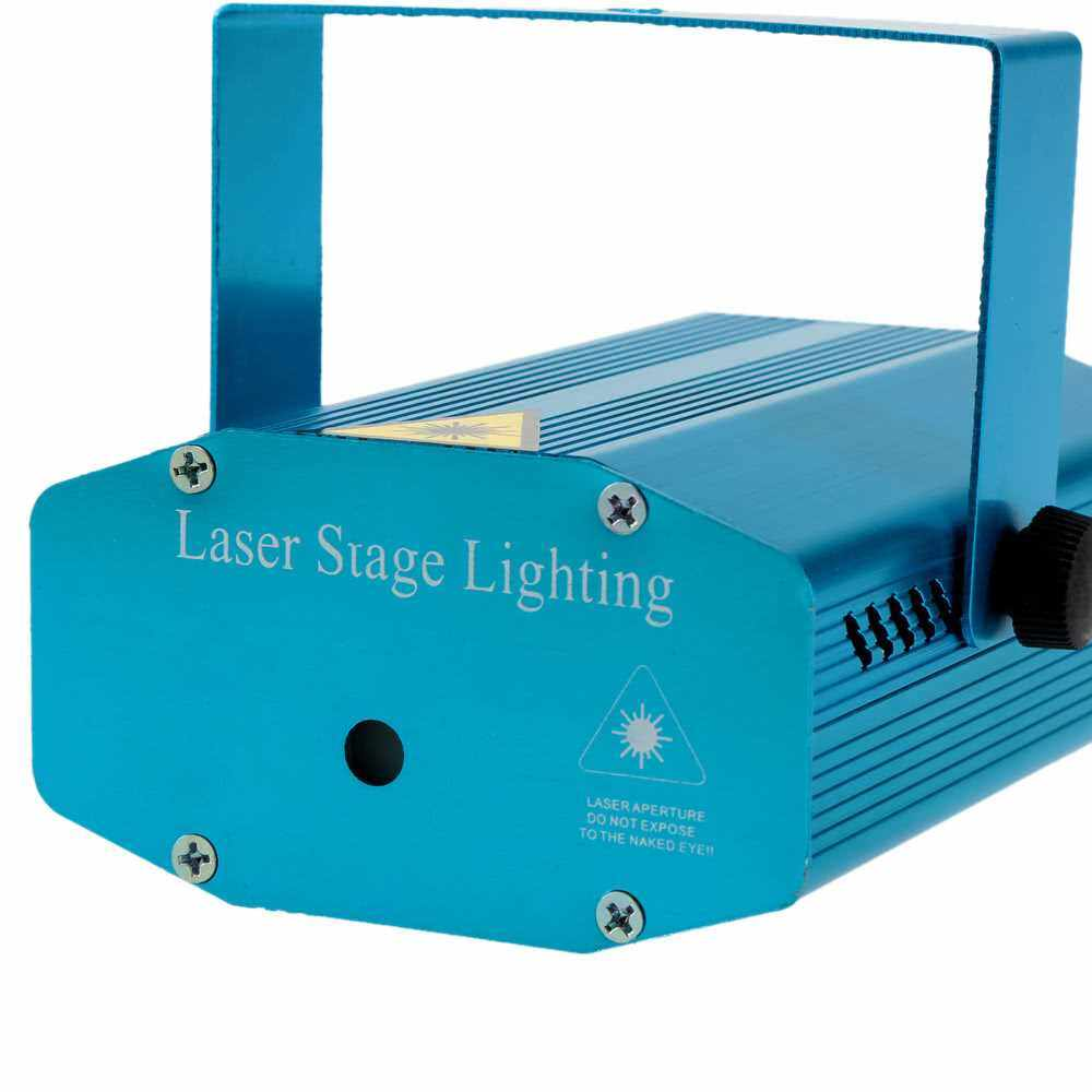 Mini Red & Green LED Laser Projector Stage Lighting (Standard)