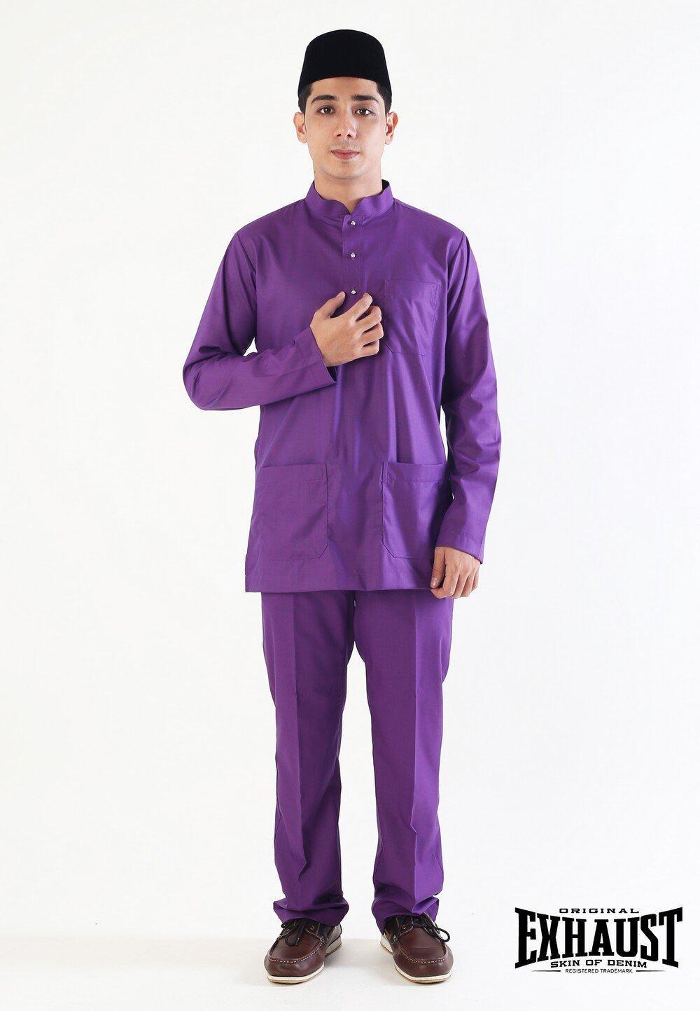 Exhaust Baju Melayu Modern Fashion 88625#3