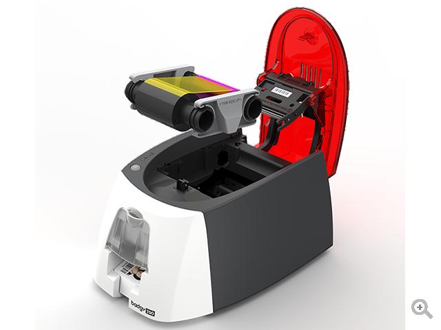 Badgy 200 ID Card Printer The affordable card printing solution Border Less Printing