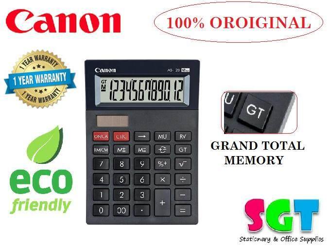 Canon Desktop Calculator 12 Digits (AS-120)