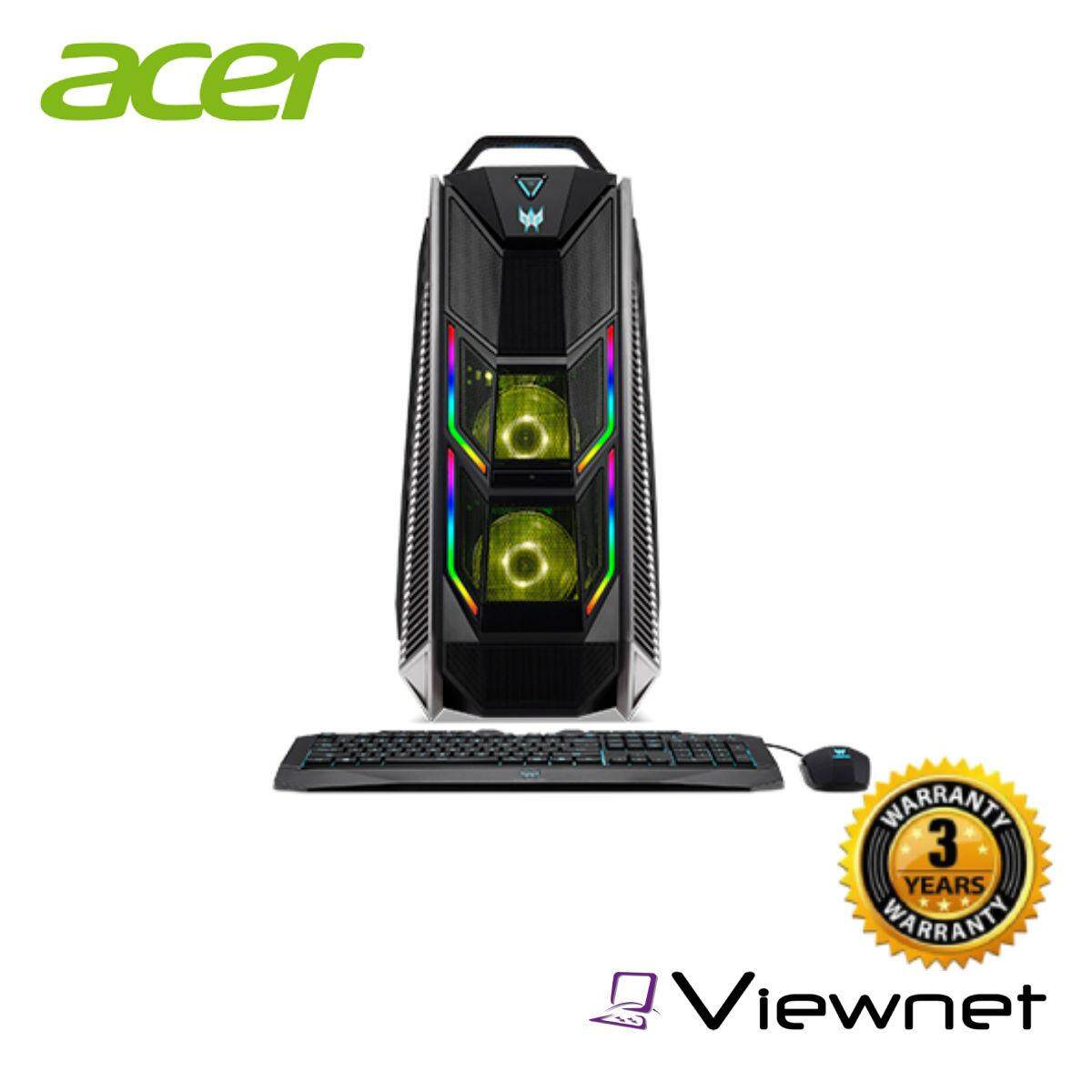 Acer Predator Orion 9000 Desktop With Free Predator Flare Keyboard And Predator Mouse (PO9-600_RGB)