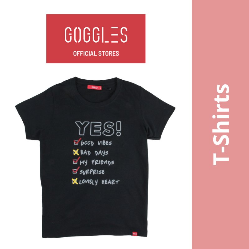 GOGGLES Ladies Short Sleeve T-Shirts 022600